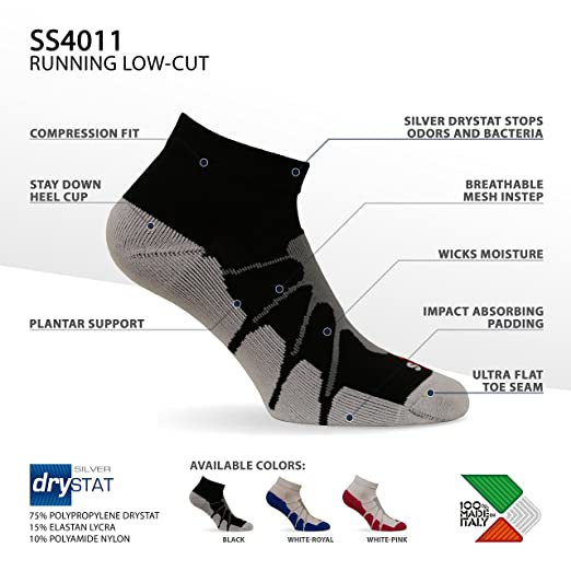 Amazon.com: Sox SS4011, calcetines de compresión para ...