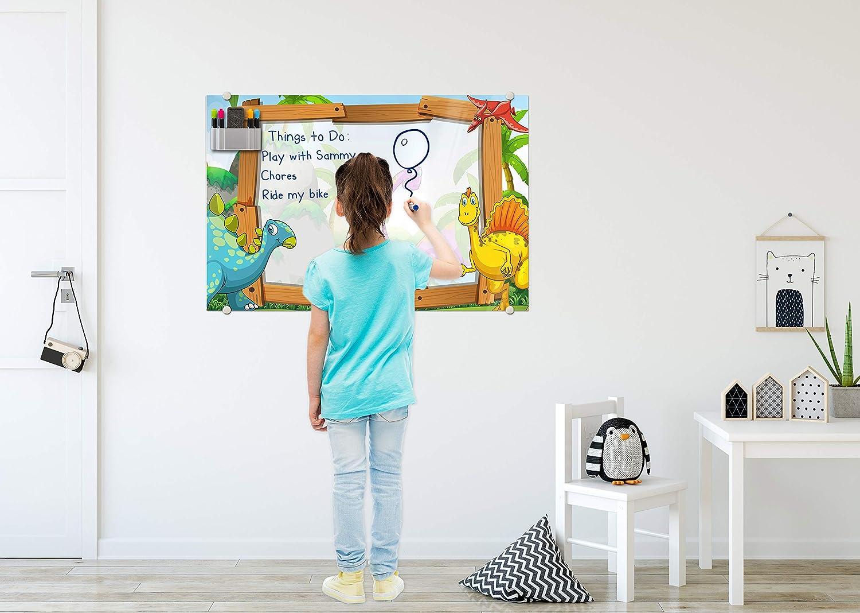 Amazon.com: Pizarras blancas para niños de Glassboard Studio ...