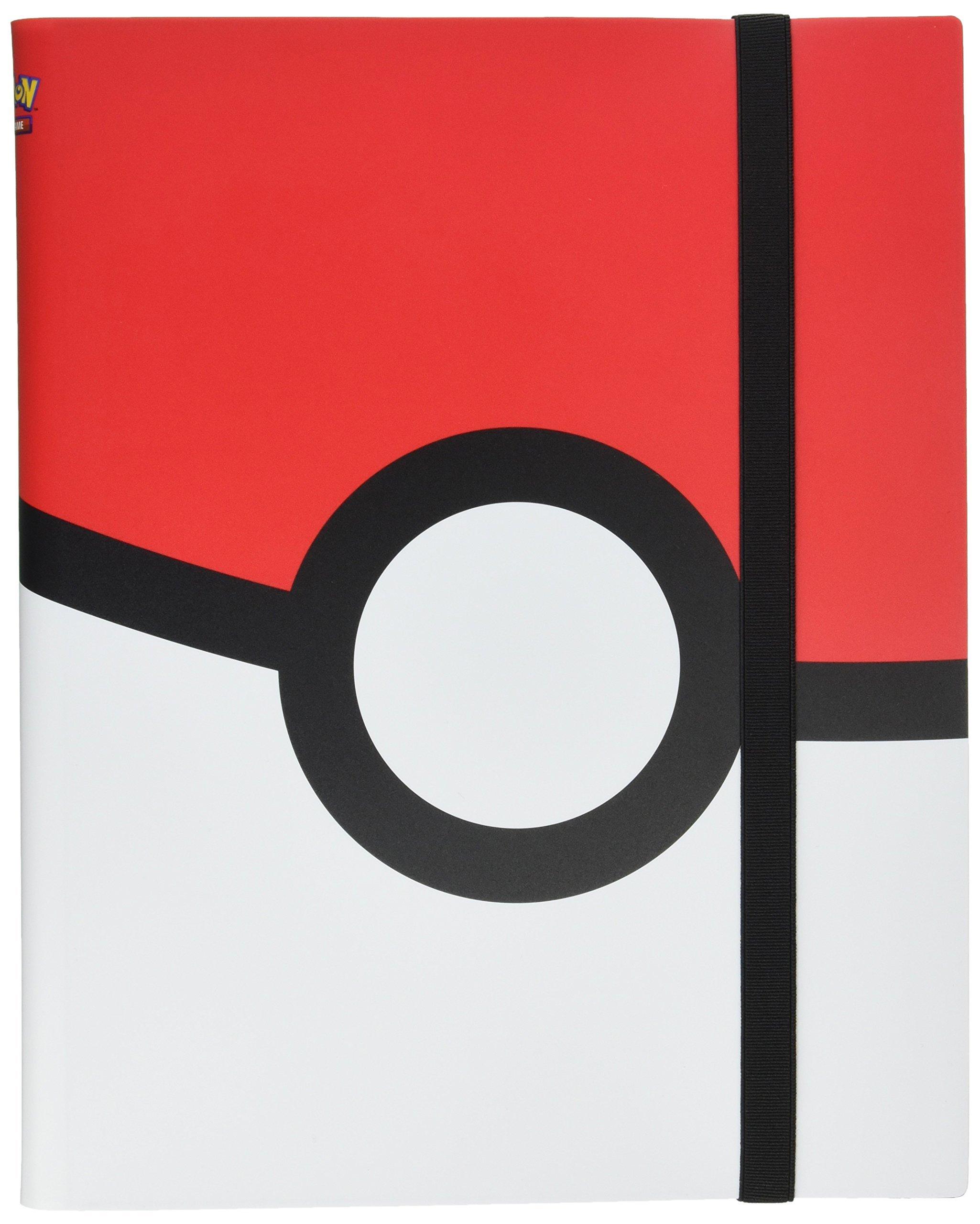 Ultra Pro Pokemon - Poke Ball Full-View 9-Pocket PRO-Binder