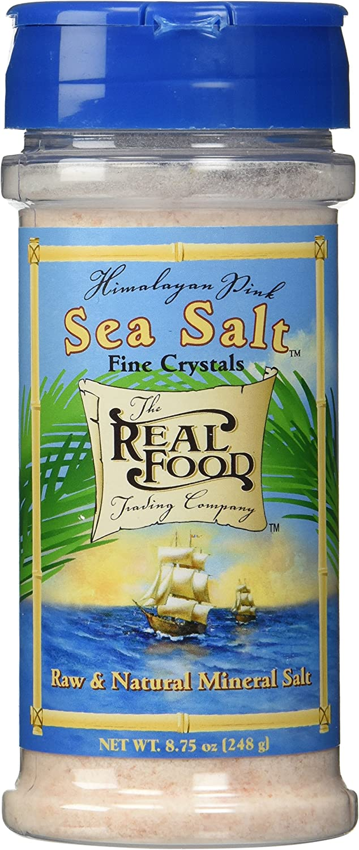 Funfresh Foods Real Food Trading Company Himalayan Pink Sea Salt, 8.75-Ounce (Pack of 3)