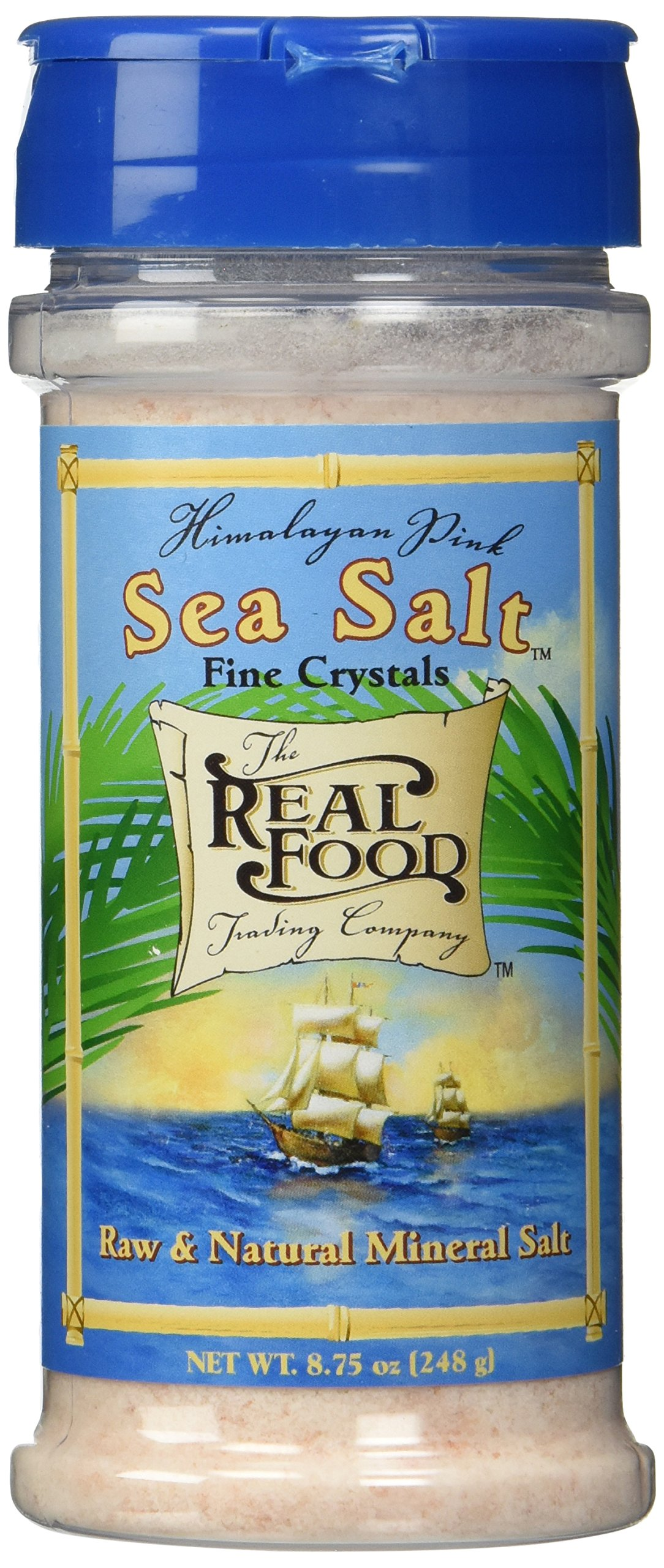 Funfresh Foods Real Food Trading Company Himalayan Pink Sea Salt, 8.75-Ounce (Pack of 3)