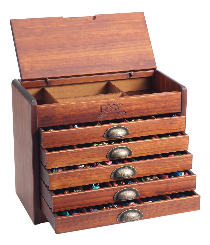 Dmc Thread Cabinet Dmc Antique Cabinet Set Ref7600 Japan Import Amazoncouk