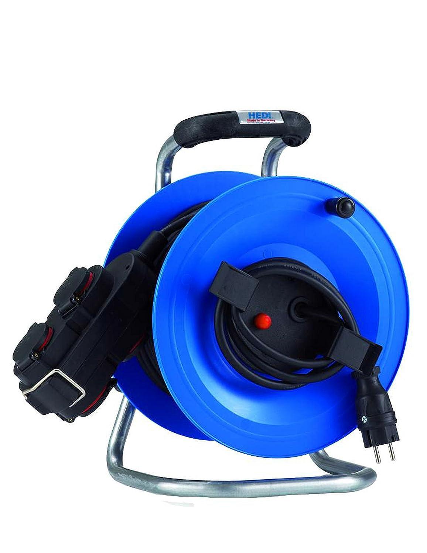 HEDI G2Y40NTK4 Gerä te-Kabeltrommel, 250 V, blau, schwarz