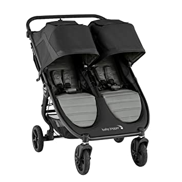 Black City Mini 2 Double Stroller Baby Jogger Graco Car Seat Adapter City Mini GT2 Double Stroller