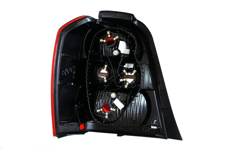 Genuine Toyota Parts 81551-48050 Passenger Side Taillight Lens//Housing