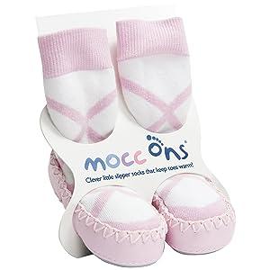 Mocc Ons Cute Estilo Mocasín Calcetines De Pantufla