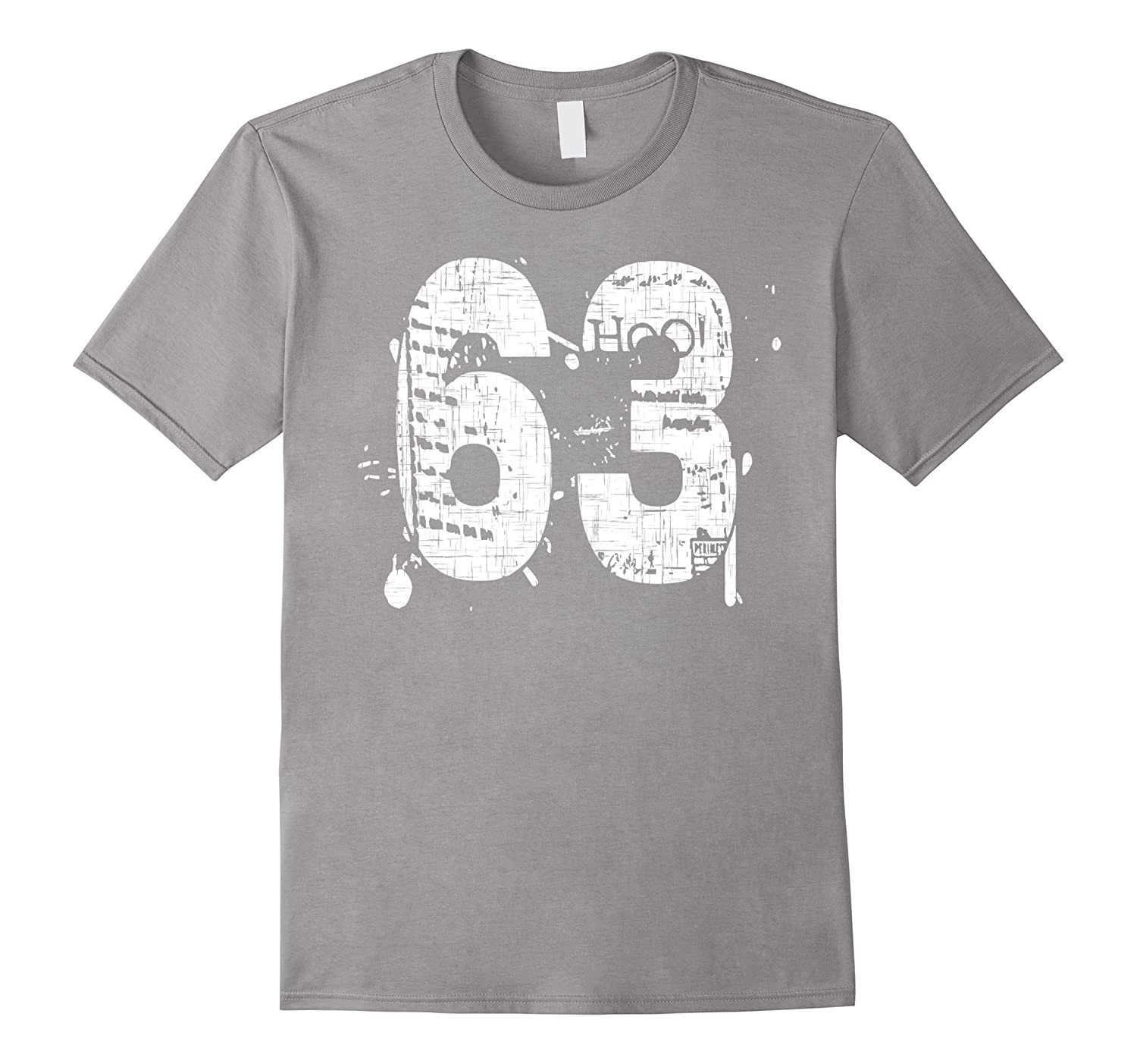 63 Grungy Team T-Shirts printed front and back-PL