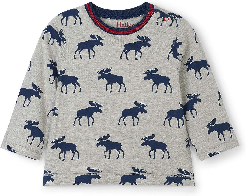 Hatley Baby Boys Long Sleeve Graphic Tees: Clothing