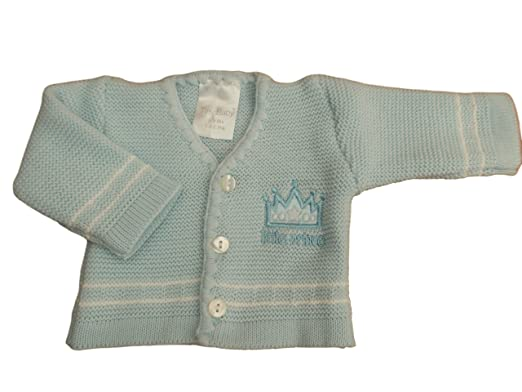 3bd5044c271d BNWT Tiny baby Premature Preemie Little prince or princess knitted ...