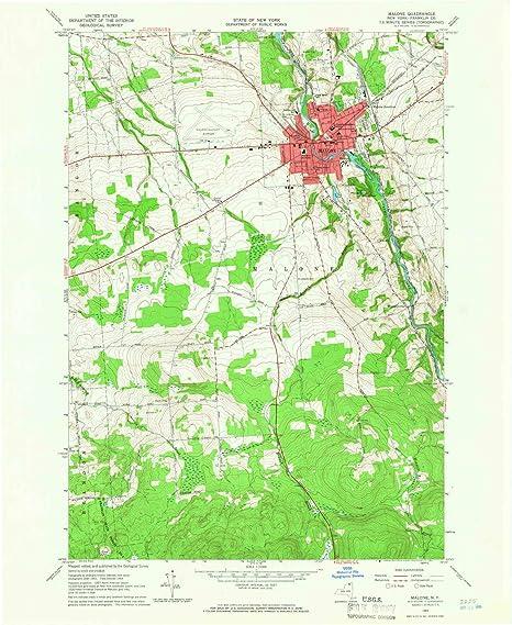 Amazon.com : YellowMaps Malone NY topo map, 1:24000 Scale ... on lee ny map, gordon ny map, harrietstown ny map, northern district of new york map, lake titus ny map, central square ny map, owls head new york map, lows lake ny map, greenfield center ny map, barnes corners ny map, patchogue ny map, brainardsville ny map, malone and hyde, st regis falls ny map, new hartford ny map, moon ny map, warren county ny map, albany ny map, north elba ny map, mexia ny map,