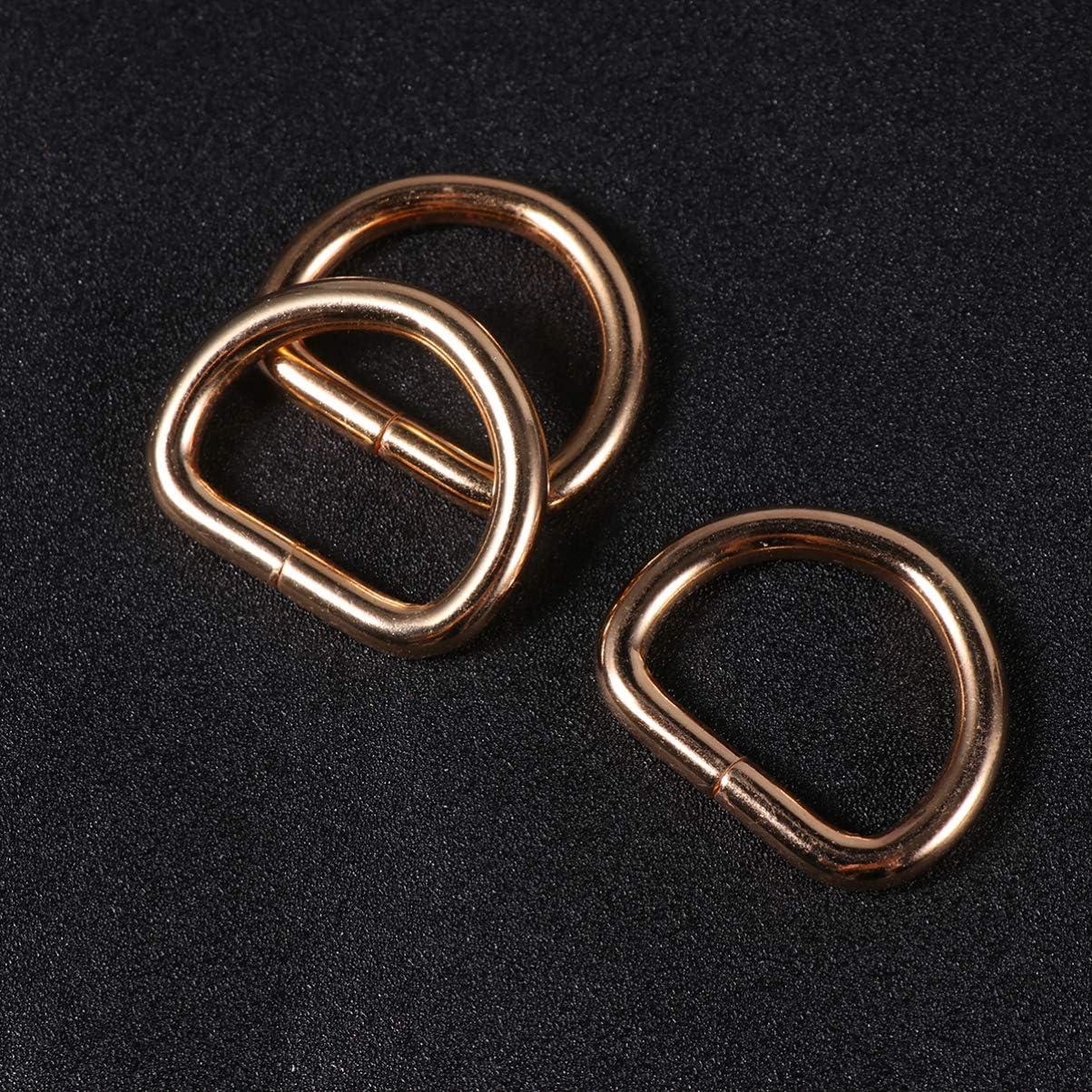 SuPVOX 20 St/ück Drehbare Karabinerhaken Metall D-Ring Pet Schnalle Leashes Schl/üsselband Drehverschl/üsse Lanyard f/ür Hardware Taschen DIY Zubeh/ör Bronze M bronze