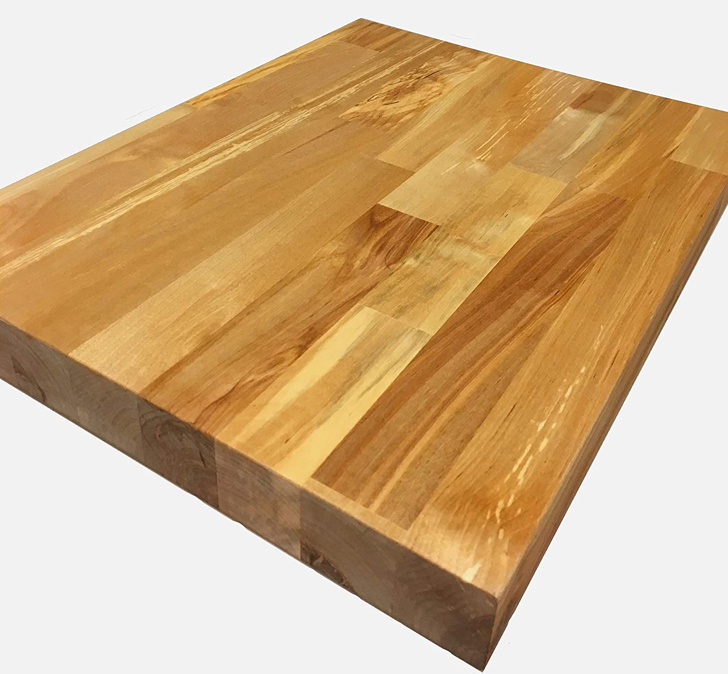 Butcher Block Workbench >> Fpd Solid Wood Birch Butcher Block Worktop Workbench Uv Finish 3 Sizes