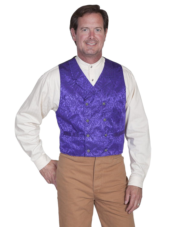 Purple 3X Scully 535344X-PUR-3X-B-T Mens Wah Maker Vest