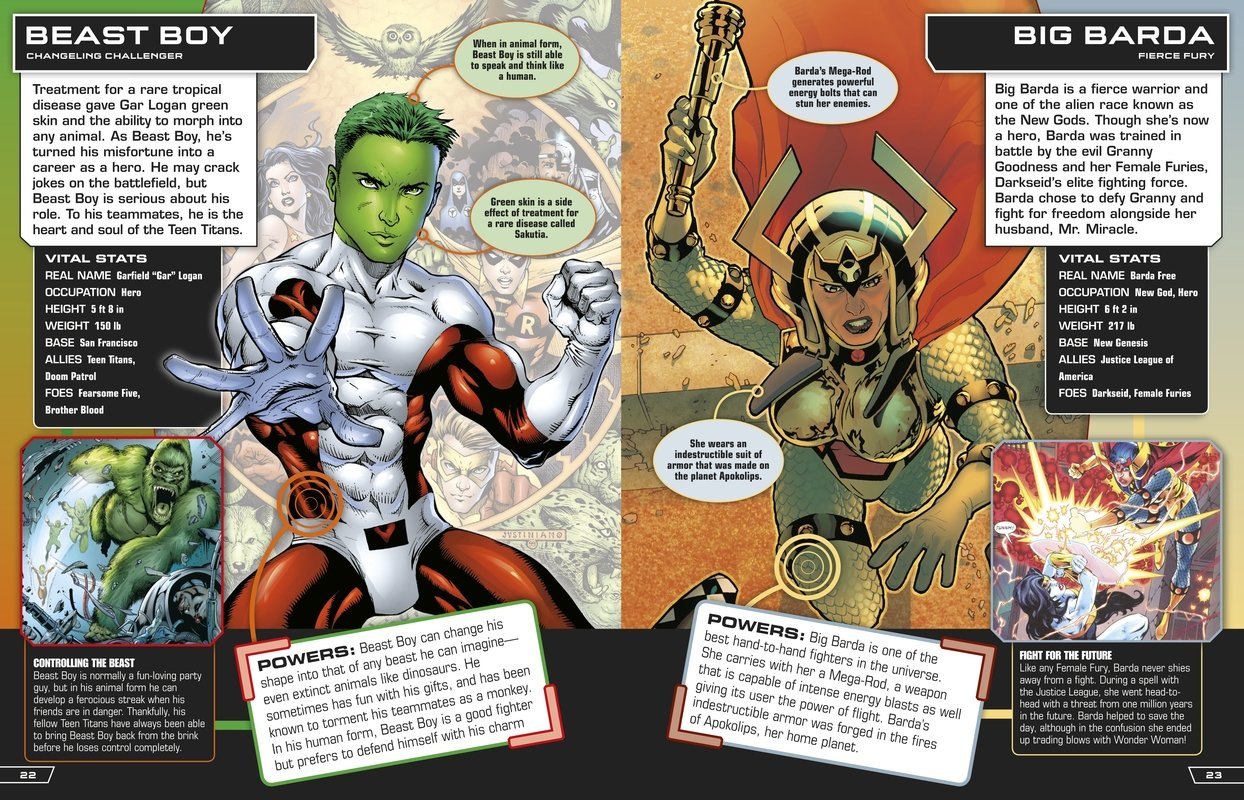 DC Comics Ultimate Character Guide: Brandon T  Snider