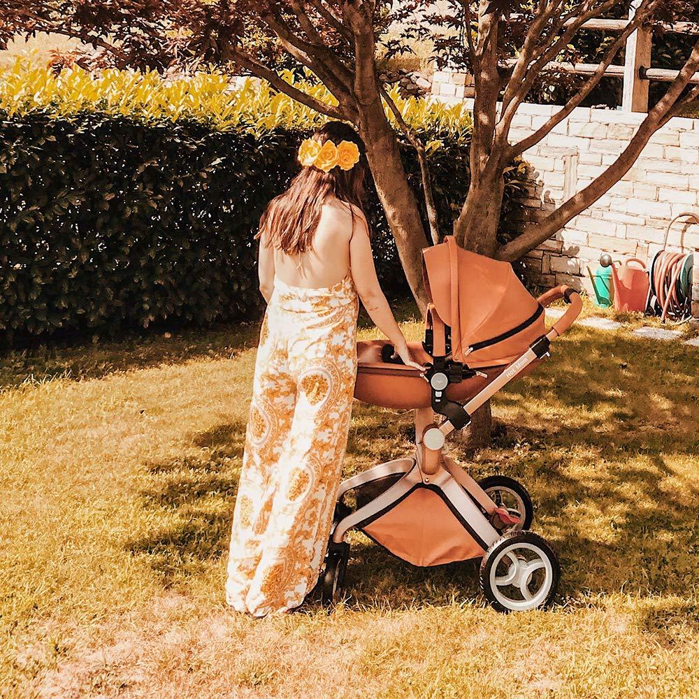 Hot Mom Pushchair 2020, 3 in 1 Baby Stroller Travel System ...