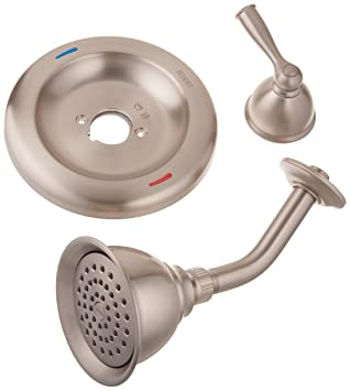 Moen 82912SRN Single Handle Posi Temp Pressure Balanced Shower Trim, Spot  Resist Brushed Nickel
