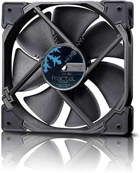 Fractal Design Venturi HP-12 - Ventilador de PC , color negro ...
