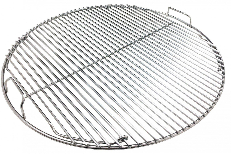 Grillrost klappbar f/ür 570er 57er Grills Premium 5 mm Edelstahl Rost