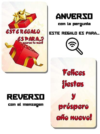 Pack 10 Tarjetas PVC con tecnologia NTAG 213 - TARJETA REGALO ...