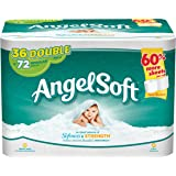 Angel Soft Bath Tissue, Double Rolls, 36 Count
