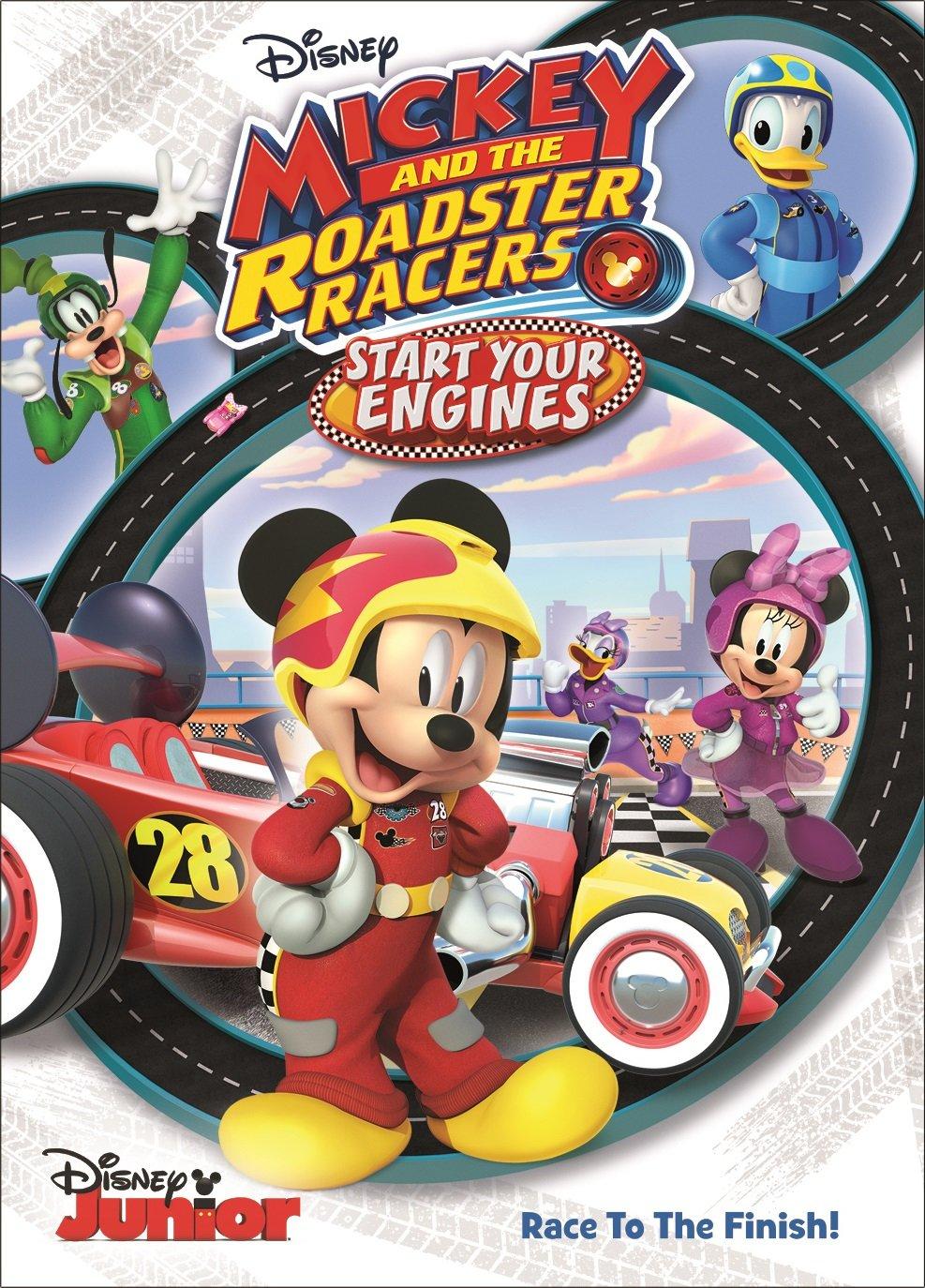 Amazon Com Mickey And The Roadster Racers Start Your Engines Bret Iwan Russi Taylor Bill Farmer Daniel Ross Tress Macneille Nika Futterman Movies Tv