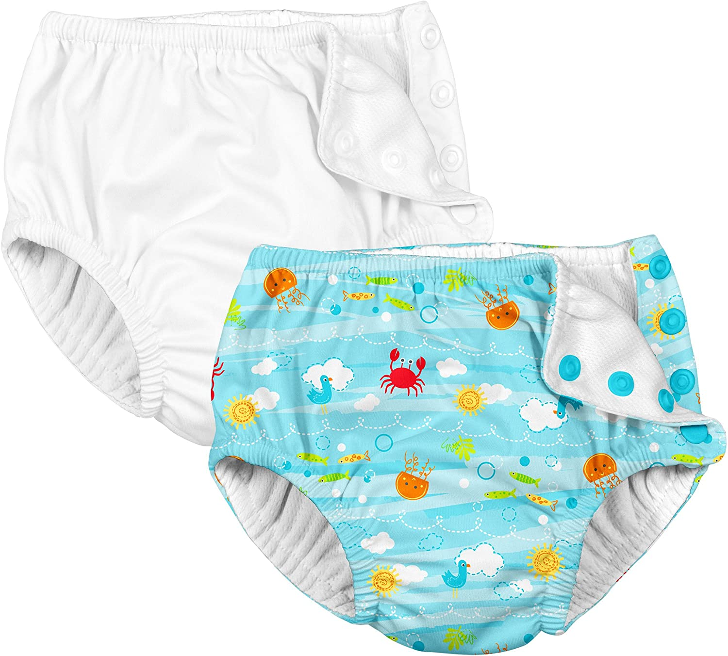 by green sprouts Pull-up Reusable Swim Diaper i play
