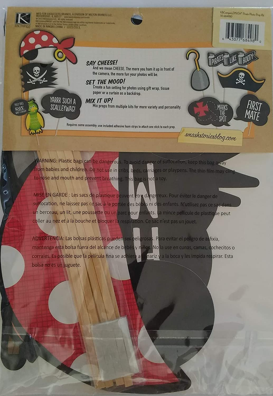Amazon.com: K&Company Smash Pirate Photo Props (9 ...