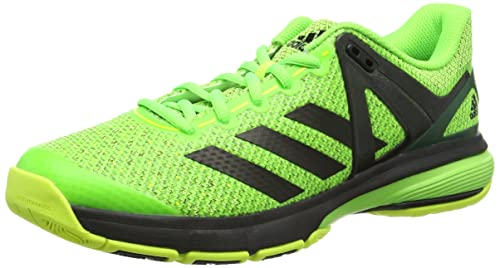 a7decd05e adidas Men's Court Stabil 13 Handball Shoes, (Solar Green/FTWR White/Core