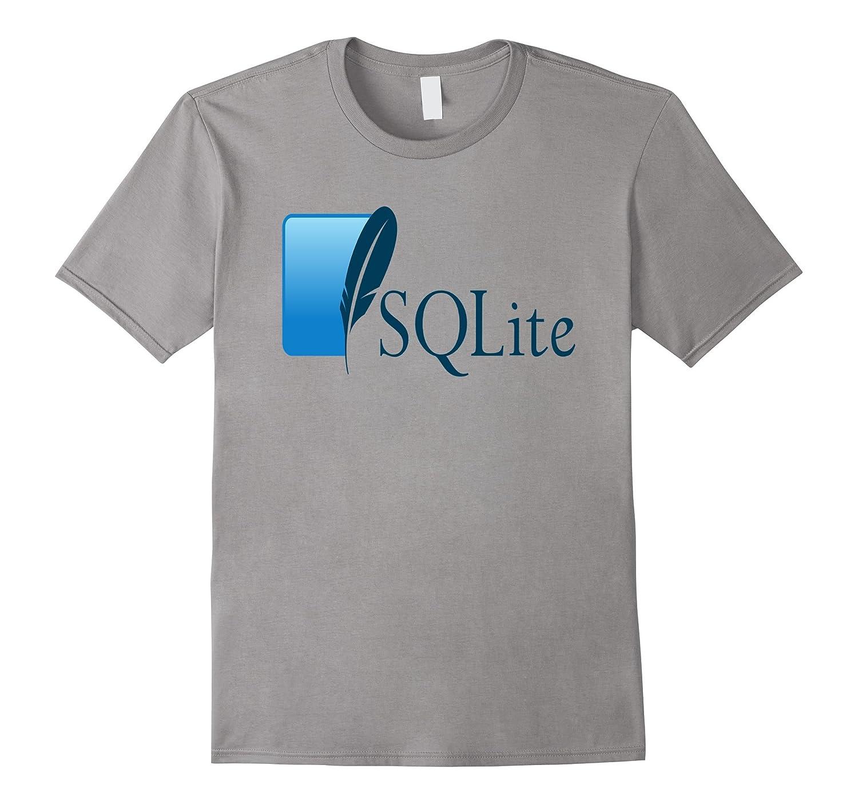 SQLite RDMS Relation Database Official Logo T-Shirt-FL
