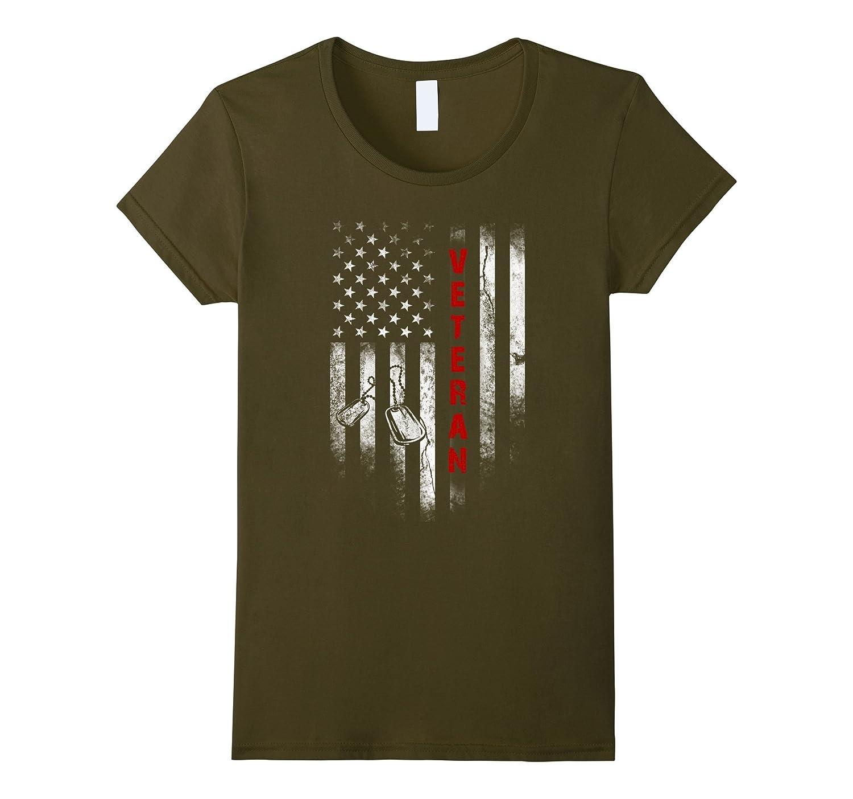 Veteran shirts: American Flag Veteran T-Shirt