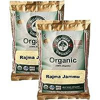 Mother Organic Rajma Jammu, 500g (Pack of 2)
