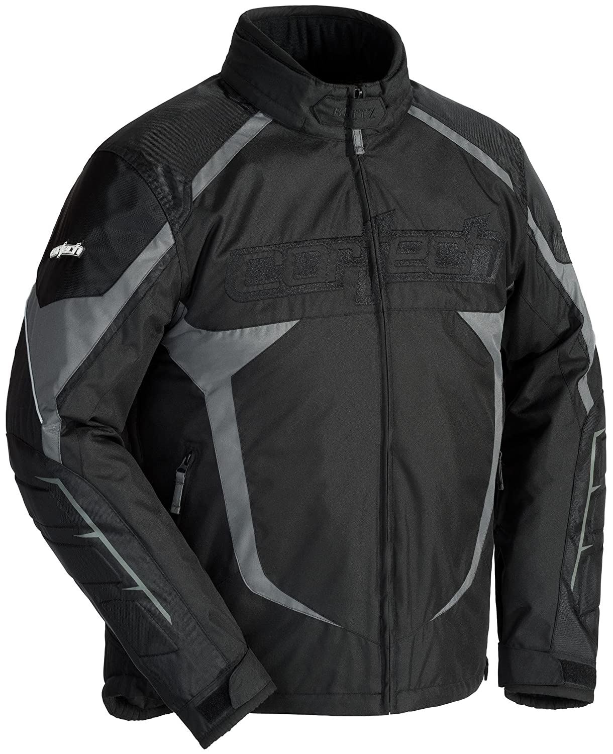 Cortech Blitz 3.0 Adult Mesh Snowboard Snowmobile Jacket - Black - Large 8927-0305-06