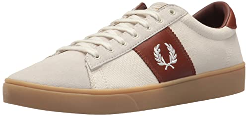 Fred Perry Zapatilla Spencer Canvas/suede Light Ecru Hombre 43 v7J7Jttsh