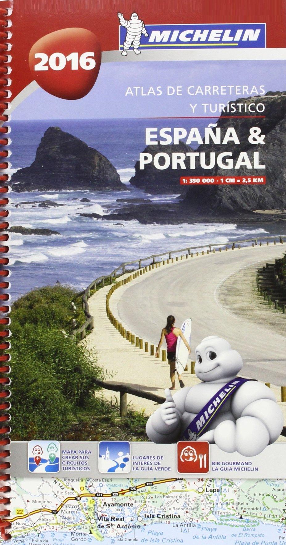Atlas de carreteras y turístico España & Portugal 2016 Atlas de carreteras Michelin: Amazon.es: Vv.Aa, Vv.Aa: Libros