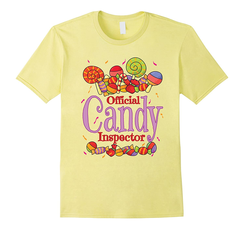 Official Candy Inspector Halloween Trick Or Treat T-Shirt-FL