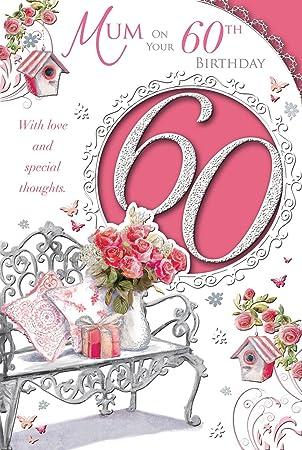 Xpress Yourself Happy 60th Birthday Mum Fabulous At Sixty Medium