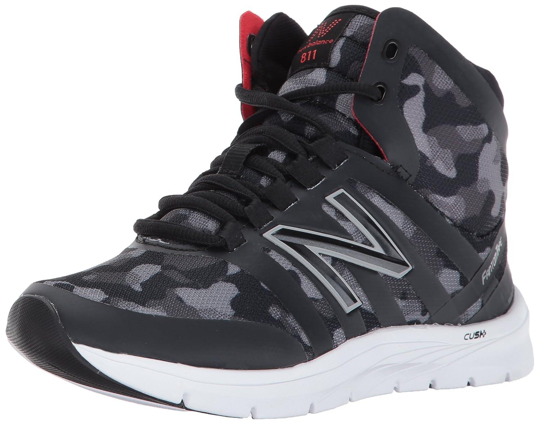 New Balance Womens CUSH 811v2 Training Shoe Cross-Trainer Black//Camo Graphic 5 D US WX811MC2