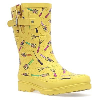 Western Chief Women's Waterproof Mid Rain Boot Shoe | Rain Footwear