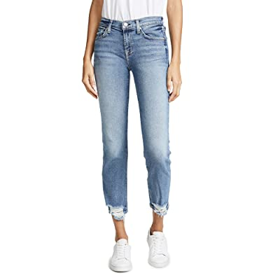 7 For All Mankind Women's Roxanne Ankle Jeans: Clothing