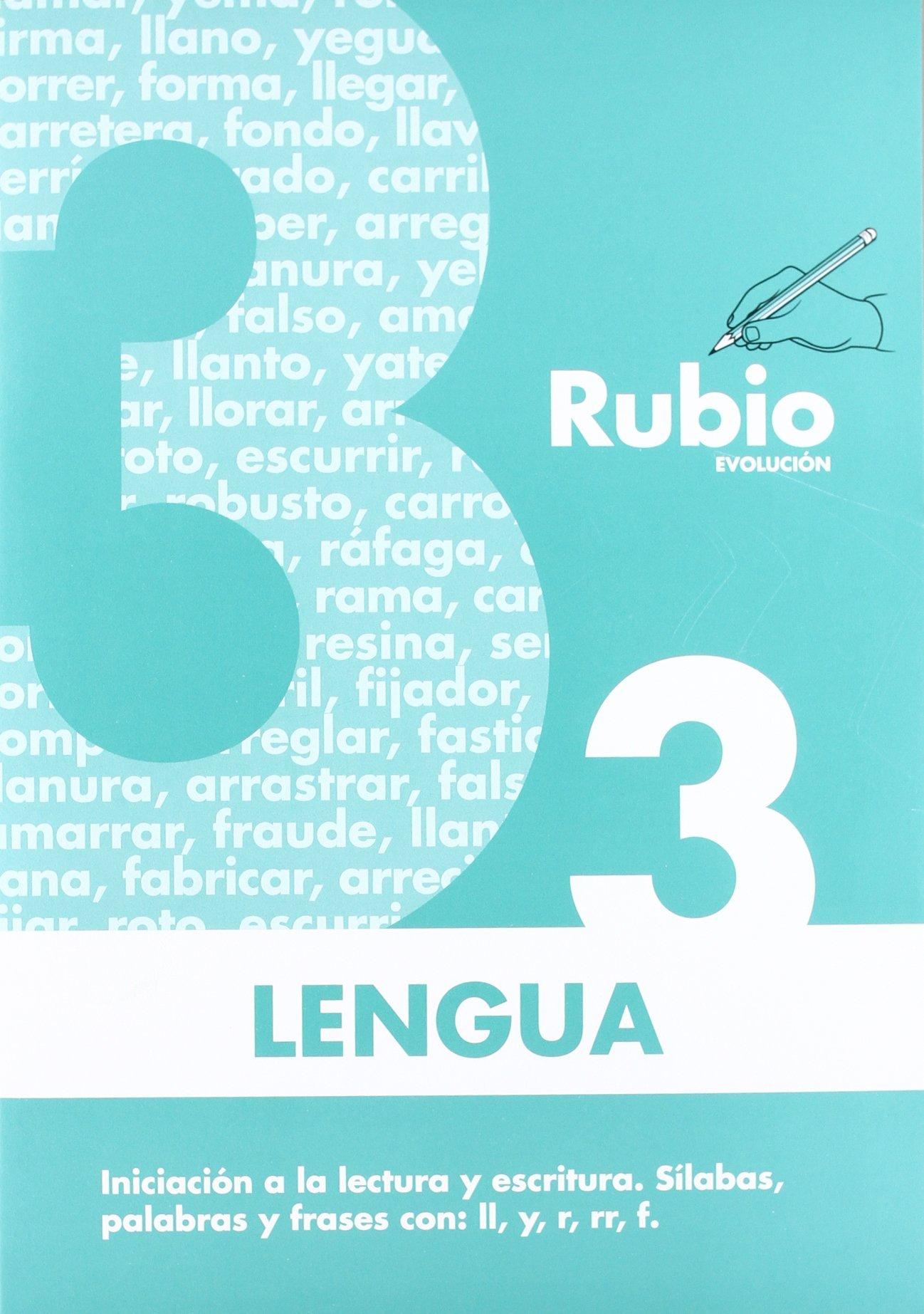 Lengua Rubio evolución 3 de Enrique Rubio Polo 4 jun 2009 Tapa ...