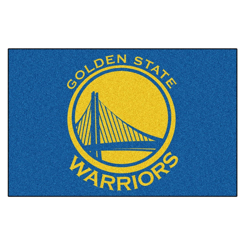 Amazon FANMATS NBA Golden State Warriors Nylon Face Starter Rug Automotive