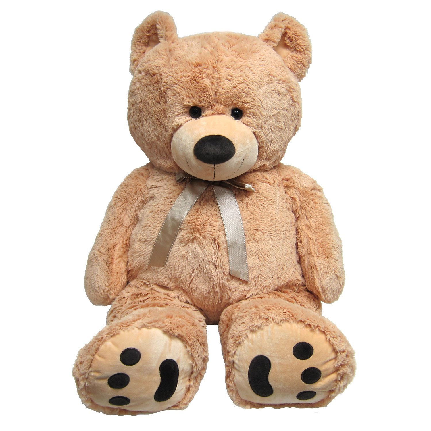 amazon com huge teddy bear tan toys u0026 games