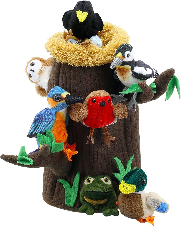 The Puppet Company – Hide Away Marionetas – Casa en el árbol con ...