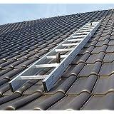 Kaminkehrerleiter Dachleiter Aluminium 15 Sprossen 4,20m