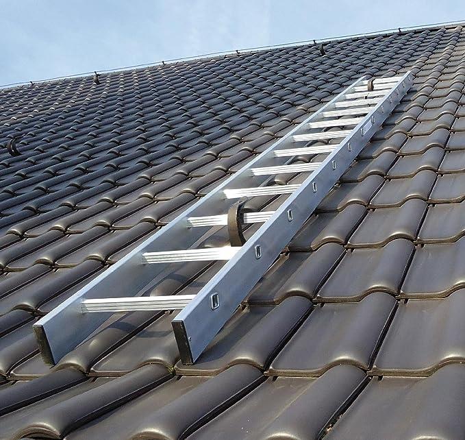 Sehr Kaminkehrerleiter Dachleiter Aluminium 18 Sprossen 5,04m: Amazon YY88