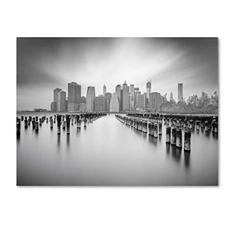 NYC 1 by Moises Levy, 35 by 47-Inch Canvas Wall Art