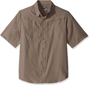 HABIT - Camisa de viaje de manga corta para hombre: Amazon.es: Ropa y accesorios