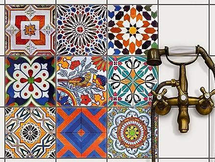 Piastrelle decorative per cucina mattonelle decorate tavolo in