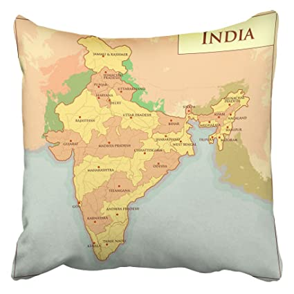 Amazon com: Emvency Decorative Throw Pillow Covers Cases