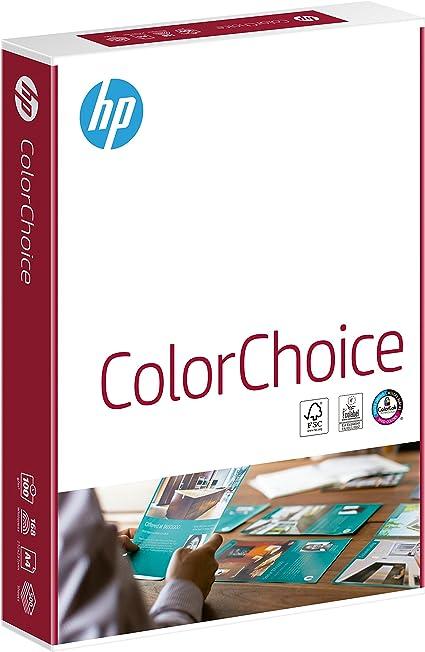 HP Color Choice A4//210x297 - Papel, 500 hojas, Blanco: Amazon.es: Oficina y papelería